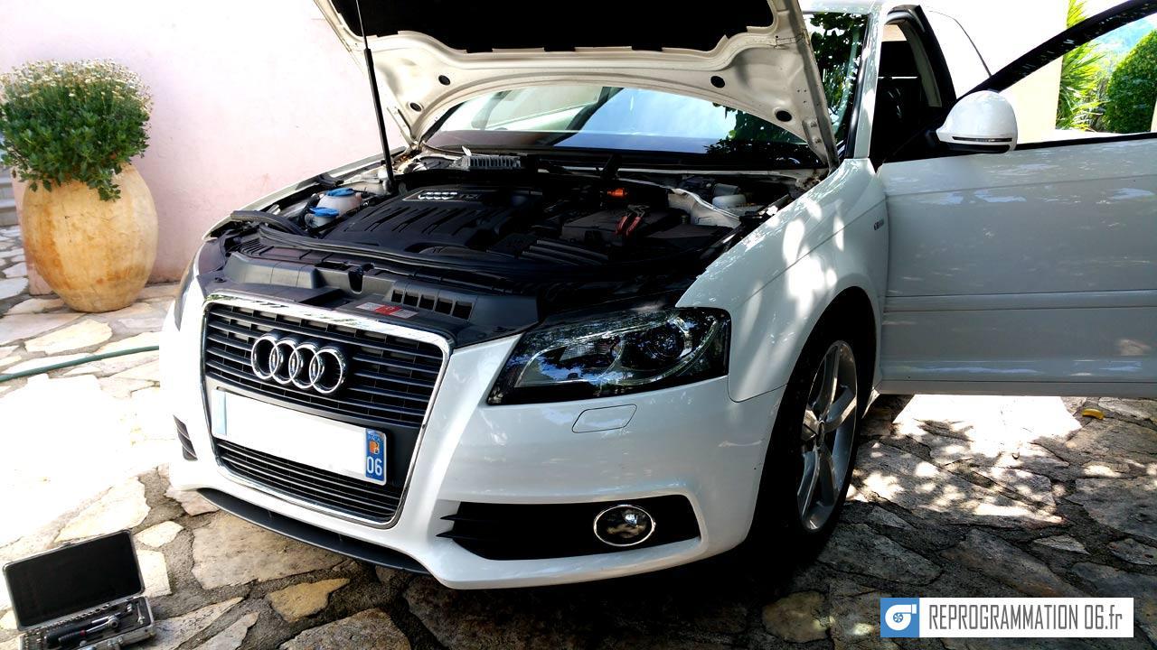 Audi A3 1.6 TDI 105ch @ 140ch