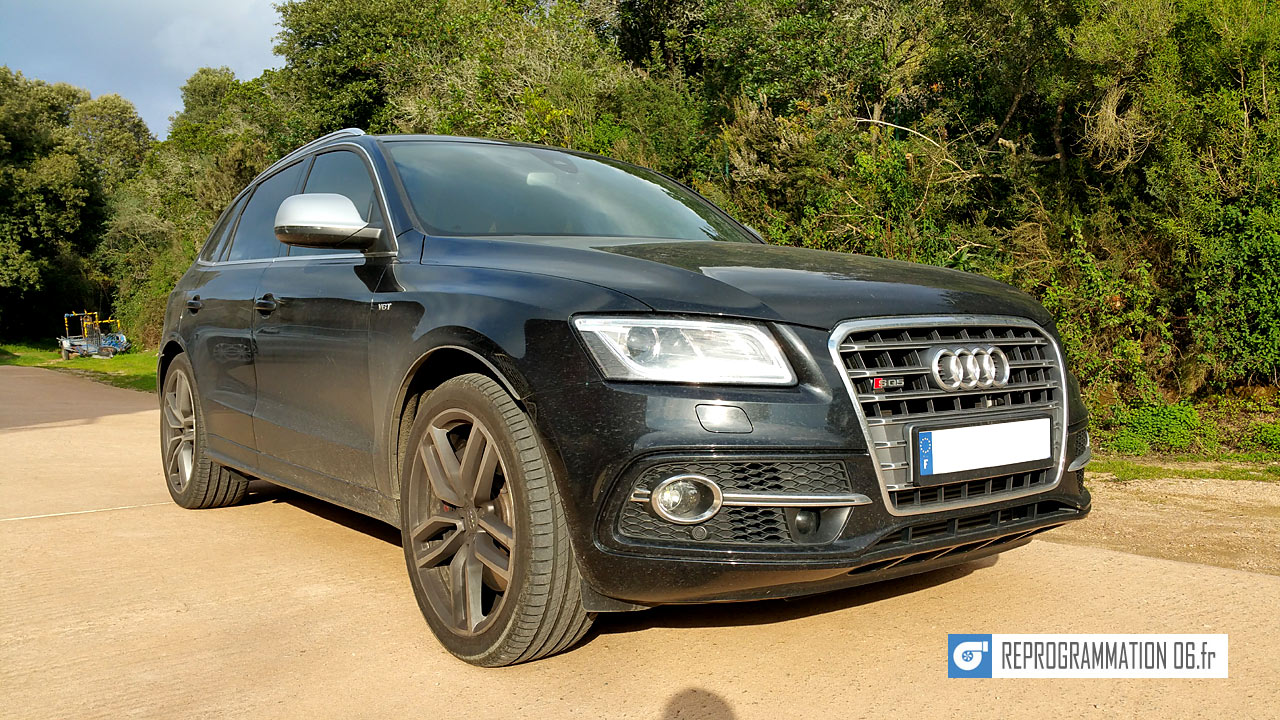 Audi SQ5 reprogrammation