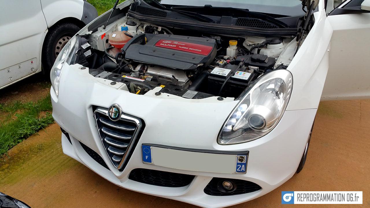Alfa Romeo Giulietta 1.4 Turbo 170ch reprogrammation moteur