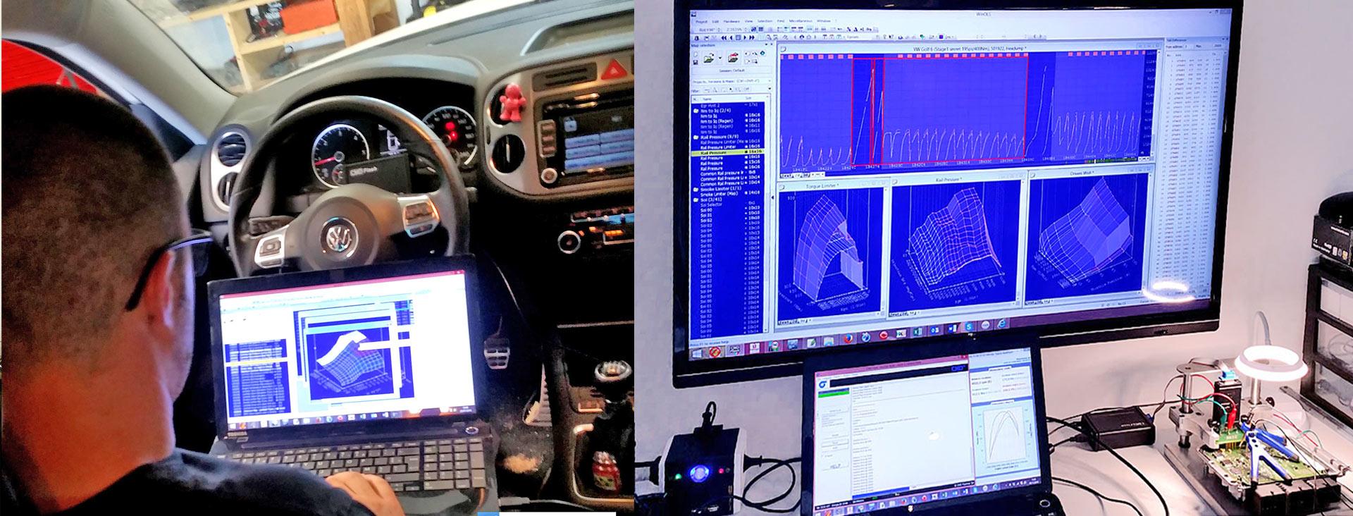 Reprogrammation Moteur Ajaccio et Reprogrammation voiture Bastia